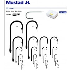 AMI MUSTAD 2315 DT GAMBO LUNGO DRITTO VARIE MISURE 100 PEZZI